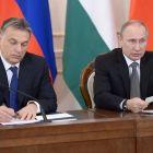 Putyin-Orbán találkozó Novo-Ogarjovóban