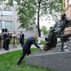 Szergej Mihalkov szobrot kapott Moszkvában